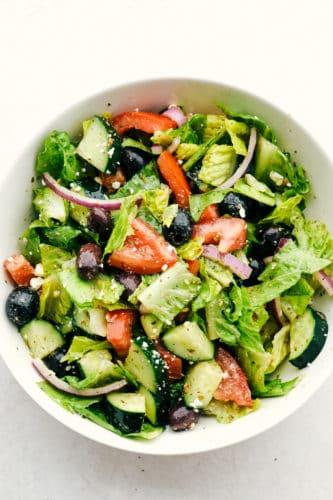 Salada Grega com o MELHOR Molho 3
