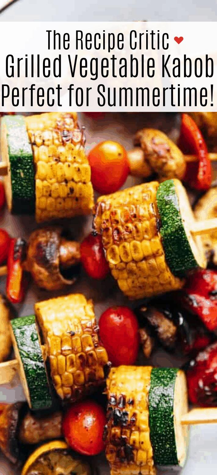 Kabobs de legumes grelhados | O crítico da receita 2