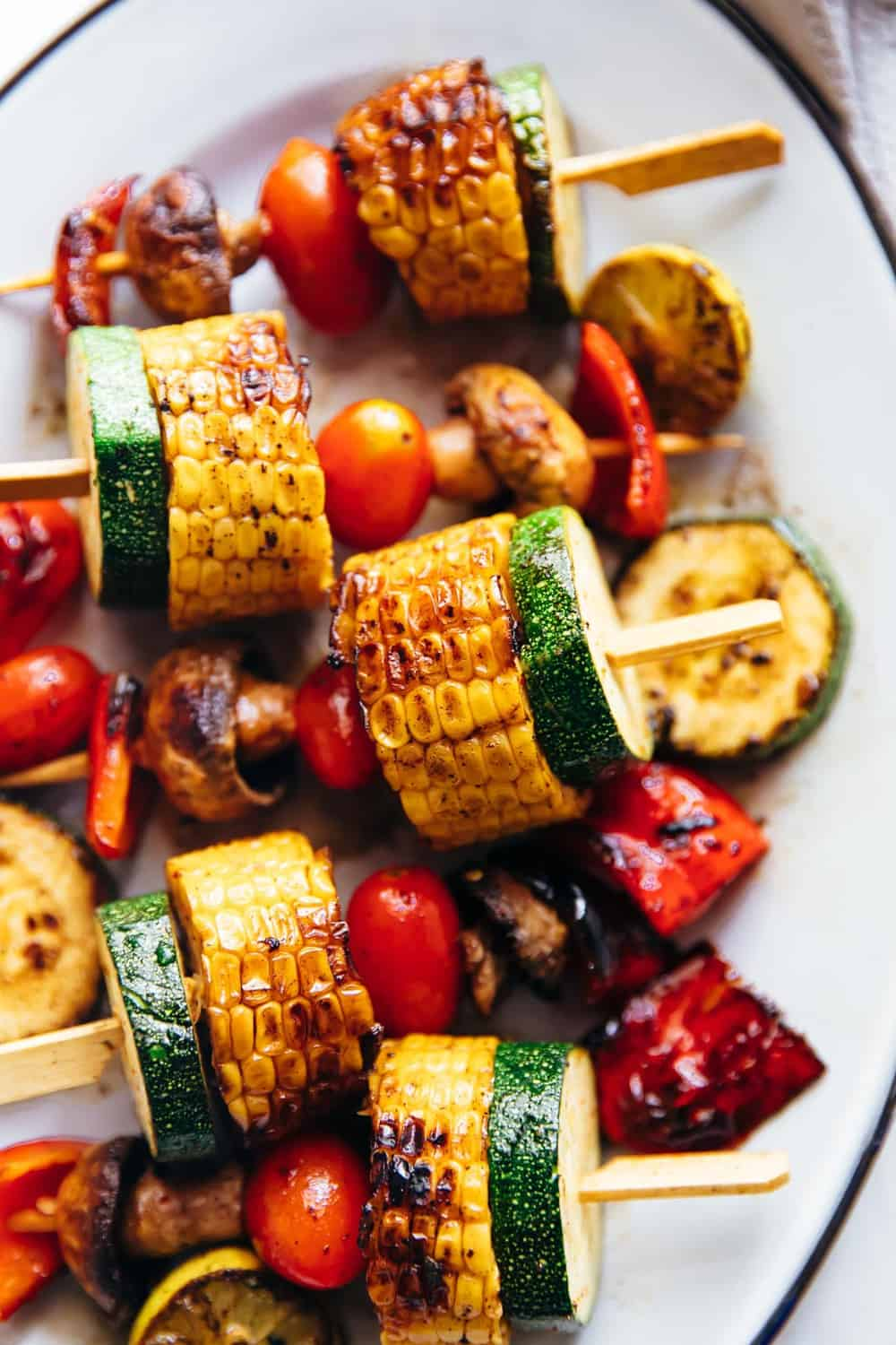 Grilled Vegetable Kabobs The Recipe Critic
