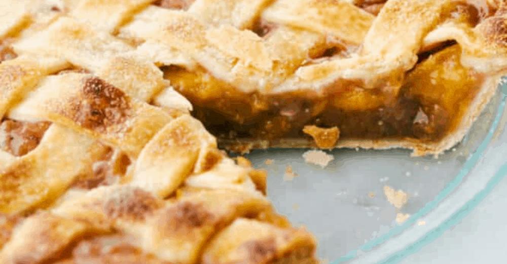Incredible Homemade Peach Pie