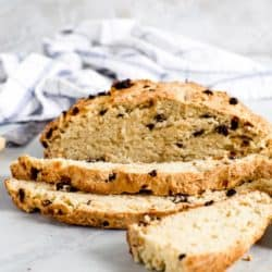Traditional Irish Soda Bread sliced