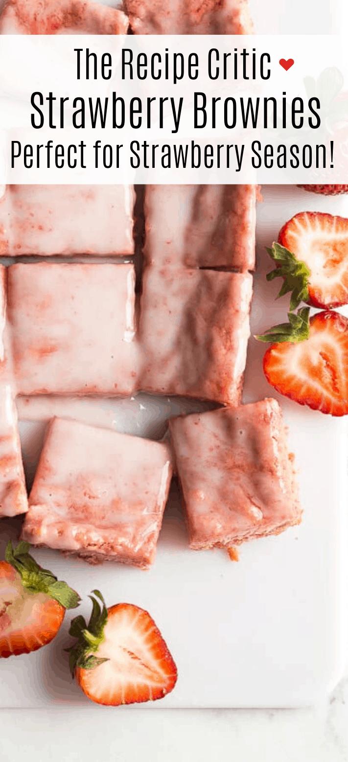 Brownies de Morango | O crítico da receita 2