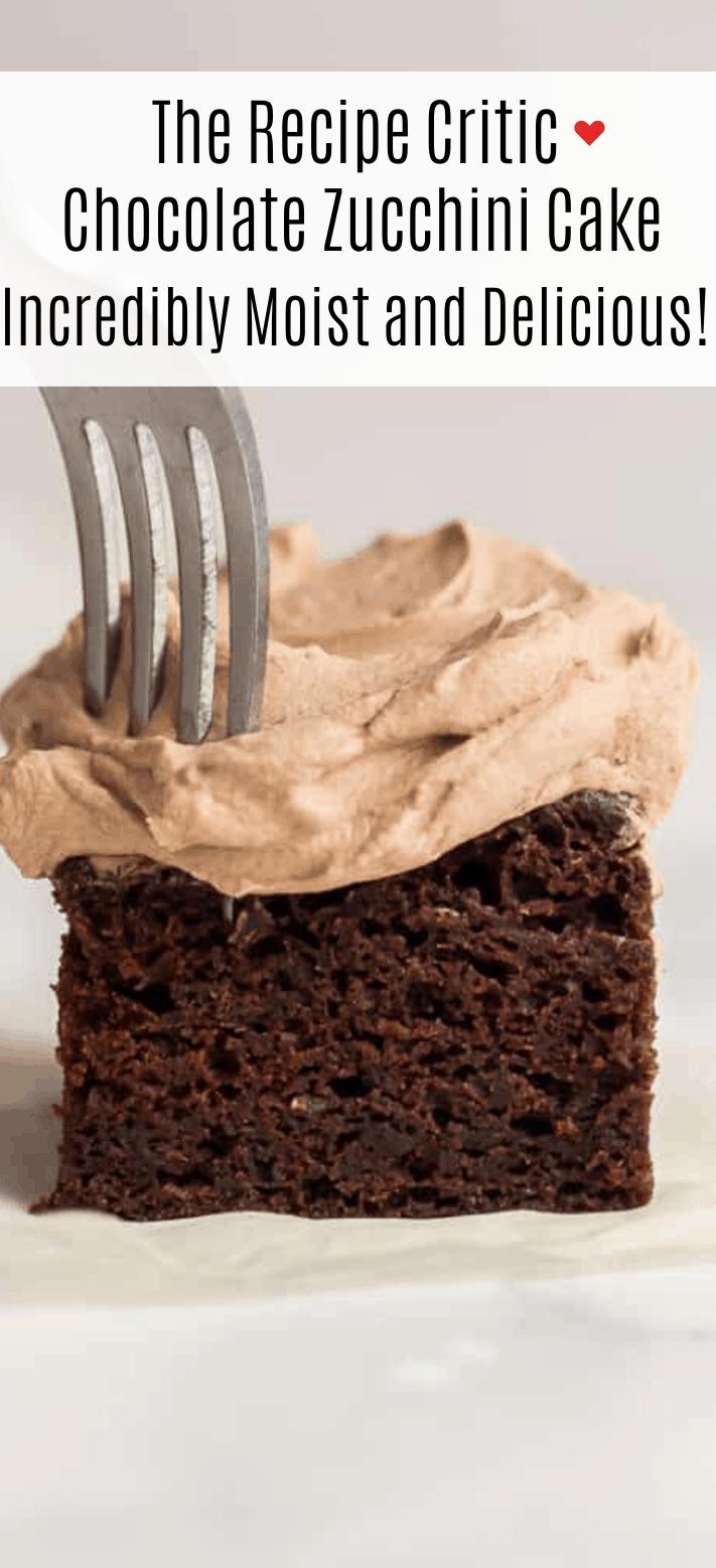 Bolo de abobrinha de chocolate | O crítico da receita 2