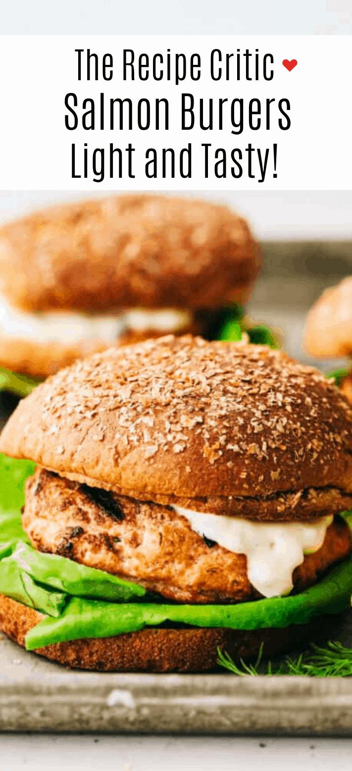 Hambúrgueres de Salmão |  O crítico da receita 2