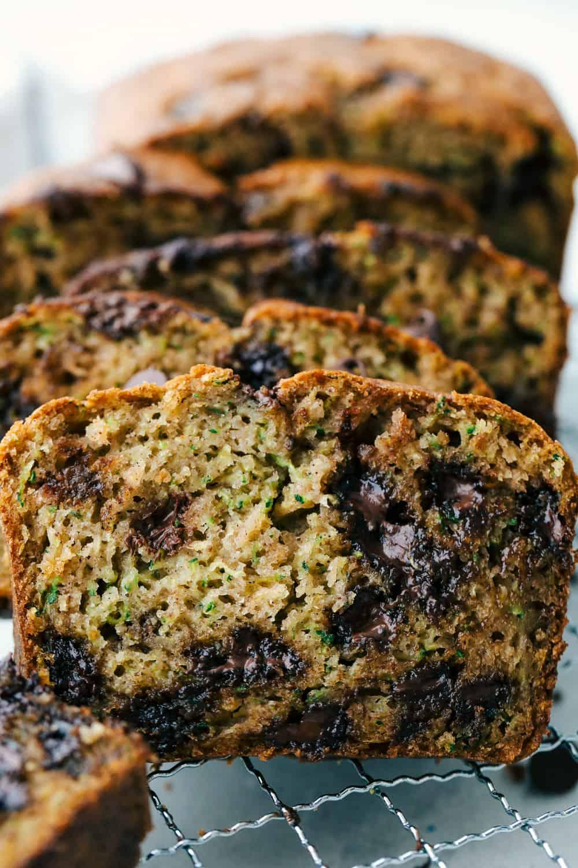 Perfect Chocolate Chip Zucchini Bread The Recipe Critic