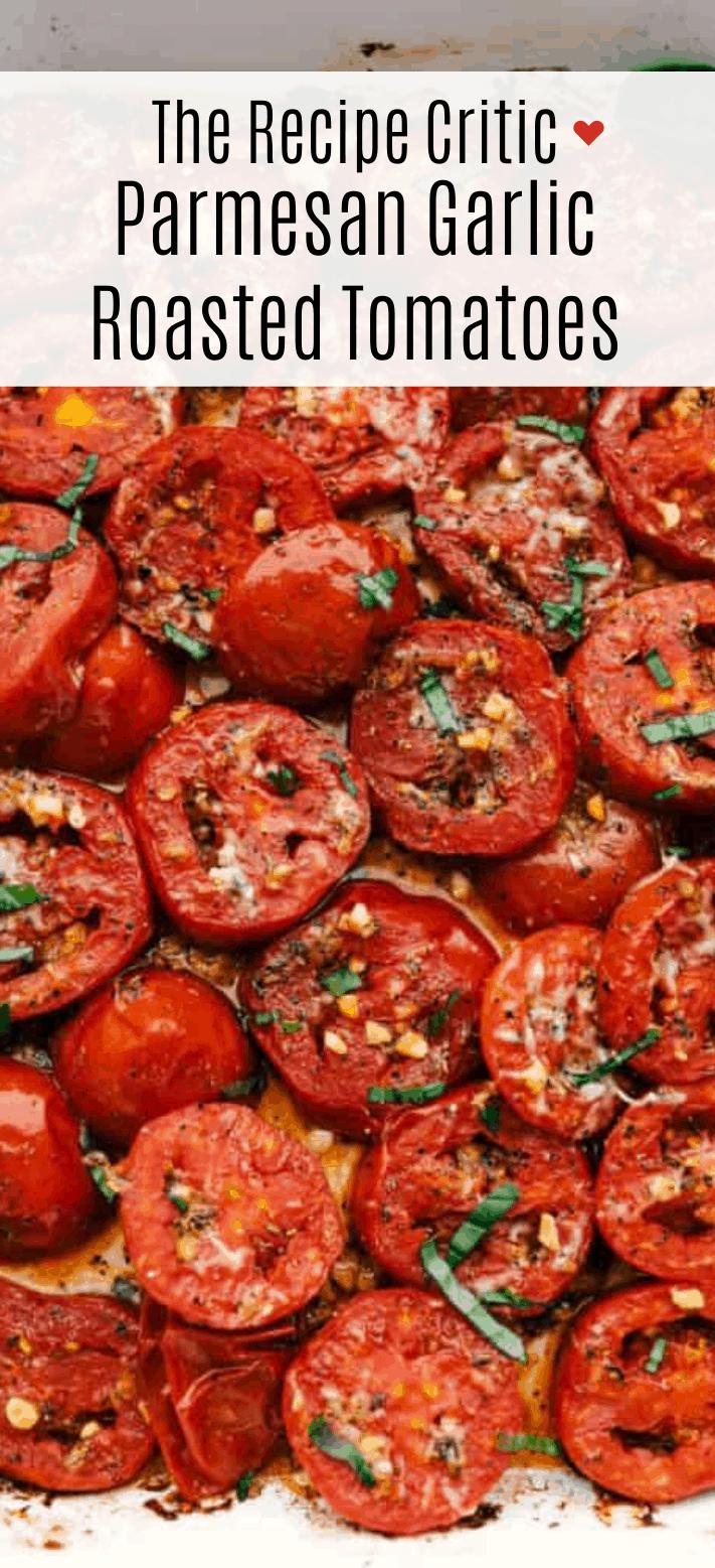 Tomate Assado com Alho Parmesão |  The Recipe Critic 2