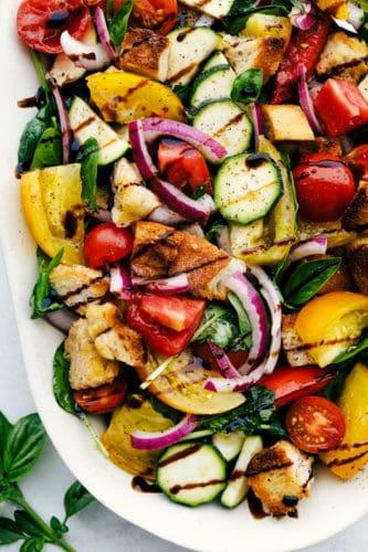 Salada Panzanella | The Recipe Critic 4
