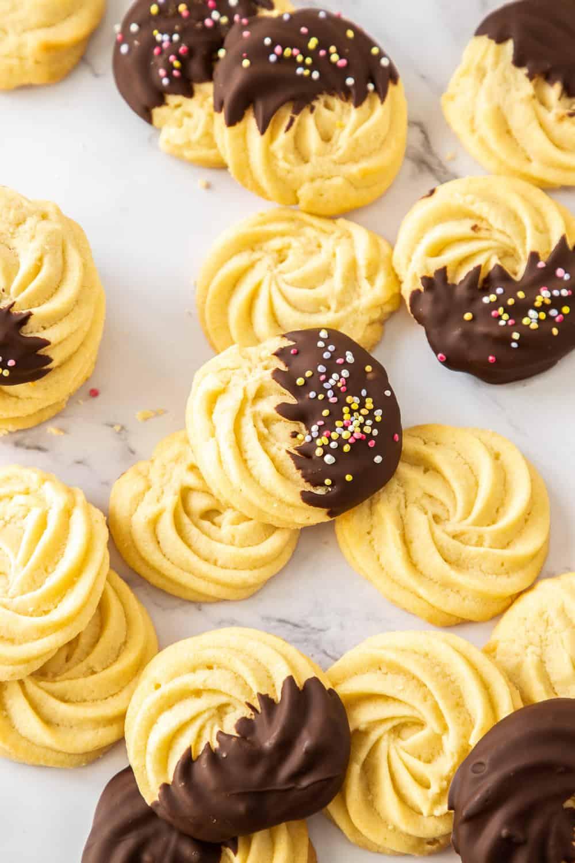 Homemade Danish Butter Cookies The Recipe Critic