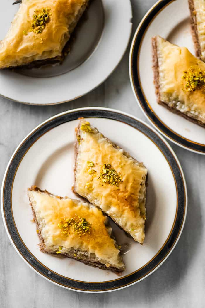 Baklava Step By Step Instructions The Best Baklava Recipe The Recipe Critic