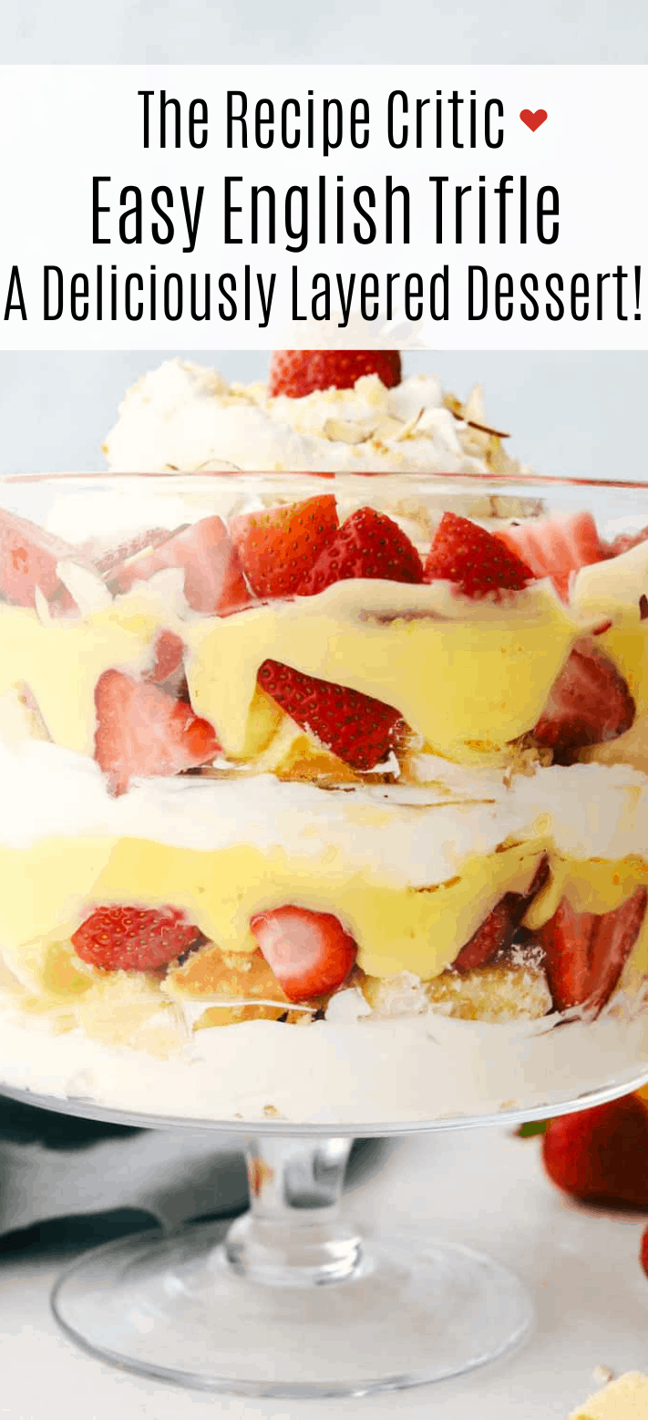 Easy English Trifle The Recipe Critic