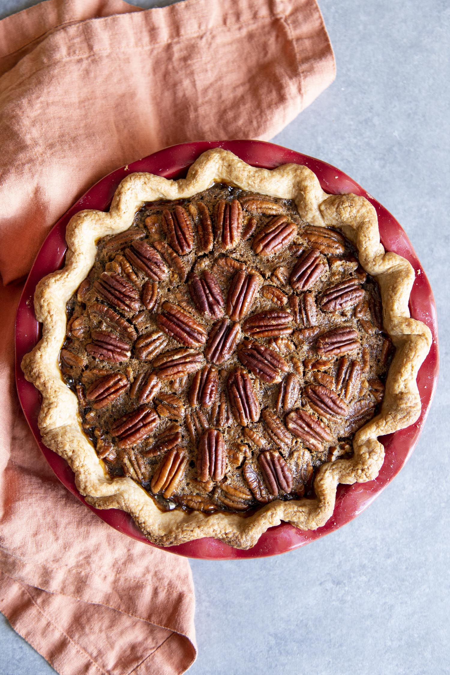 Rich, decadent Pecan pie.