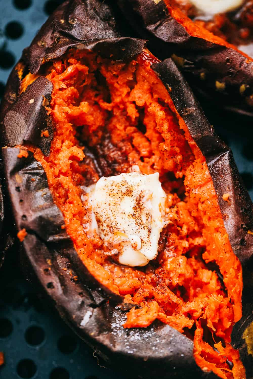 Creamy inside, perfectly roasted Sweet Potatoes