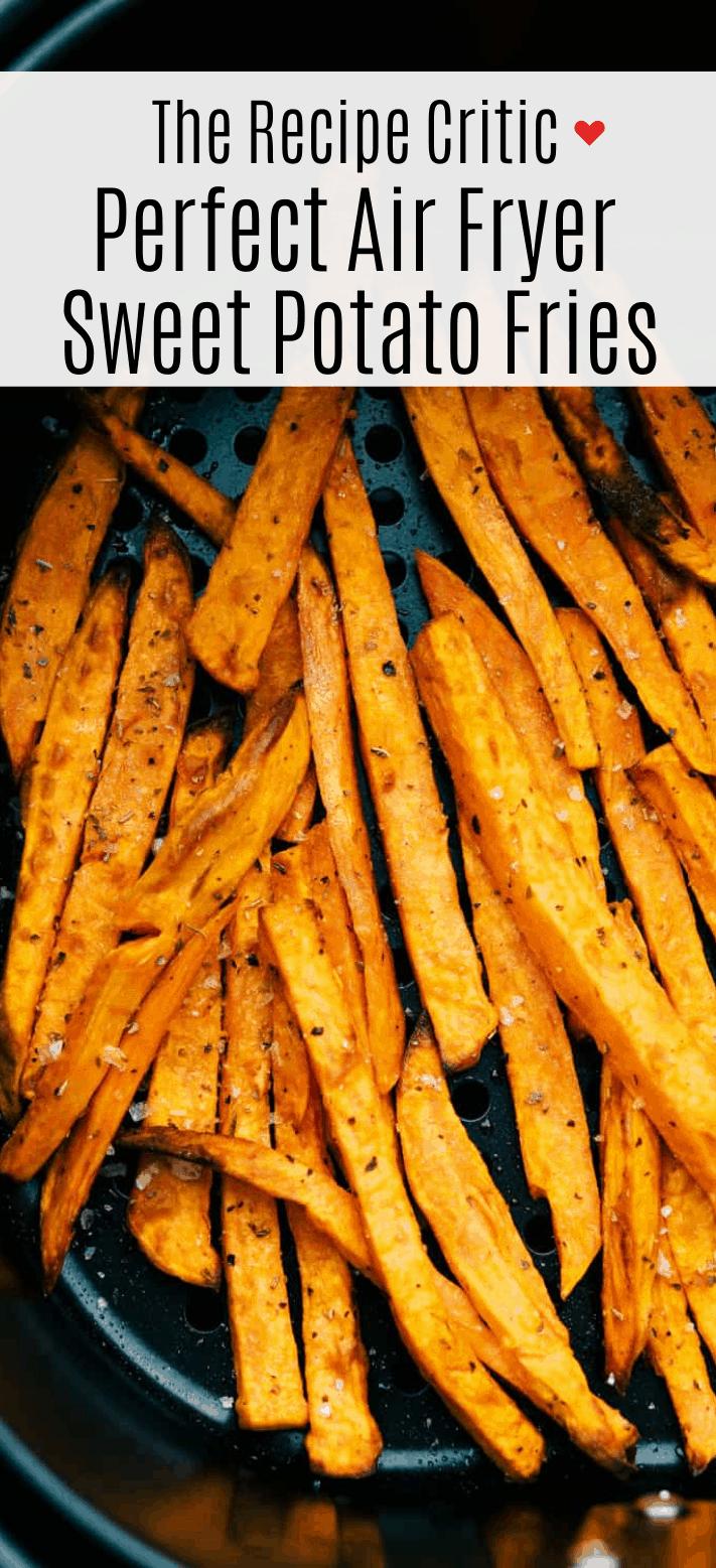 Perfect Air Fryer Sweet Potato Fries | Cook & Hook