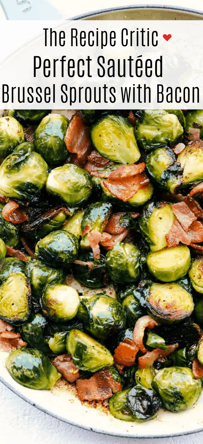 Perfect Sautéed Brussel Sprouts with Bacon | Cook & Hook