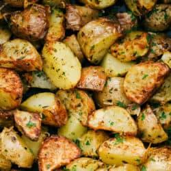 "Batatas fritadeiras {The BEST ""Roasted"" Potaotes} 4"