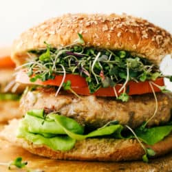 Air Fryer Turquia Hambúrgueres |  The Recipe Critic 4