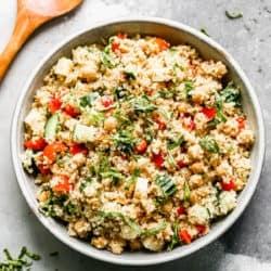 Salada de Quinoa | The Recipe Critic 4