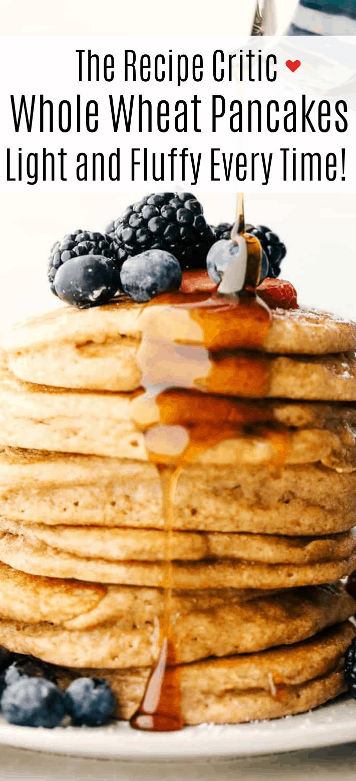 Whole Wheat Pancakes 2