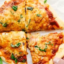 A receita perfeita de pizza da fritadeira de ar 4
