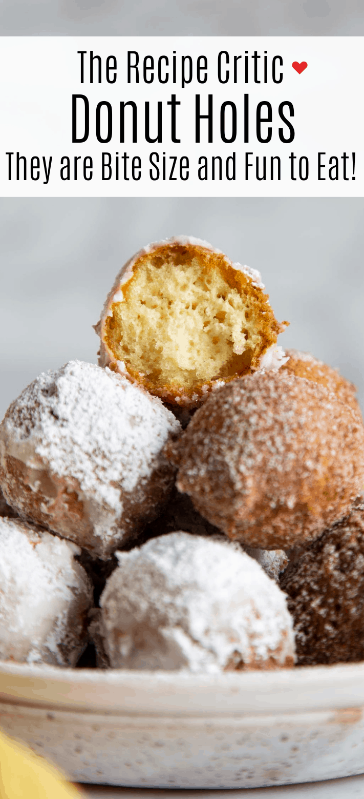 Easy Homemade Donut Holes | Cook And Hook | Cook & Hook