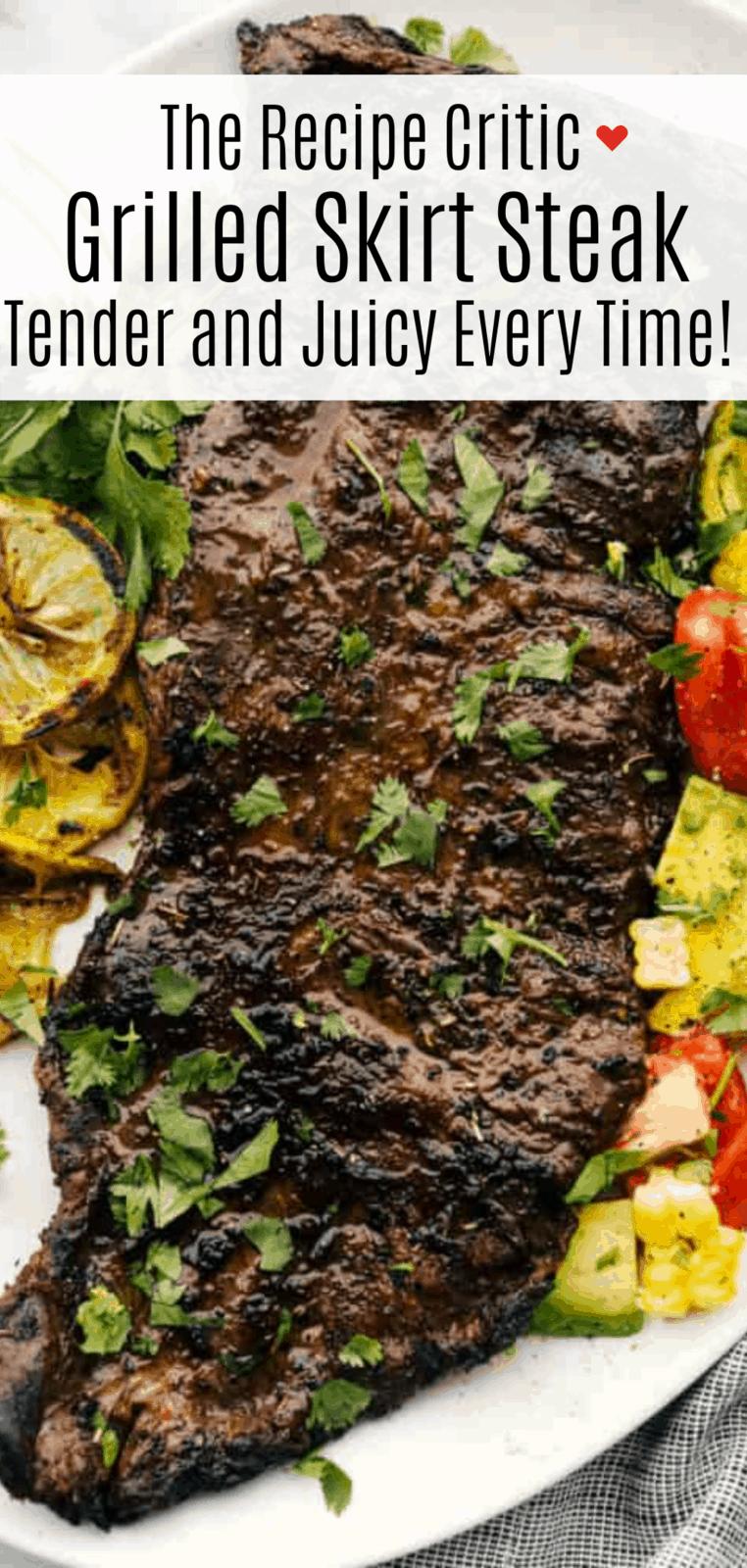 Grilled Skirt Steak