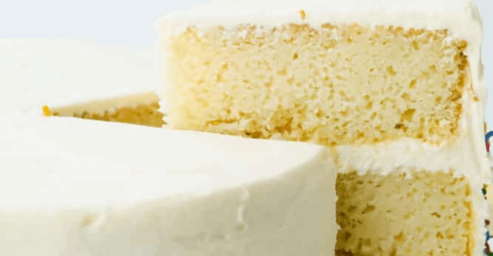 The Best White Cake Recipe Ever!