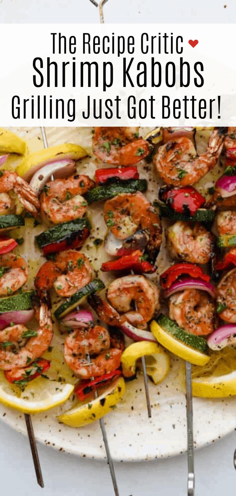 The Best Grilled Shrimp Kabobs Recipe | Cook & Hook