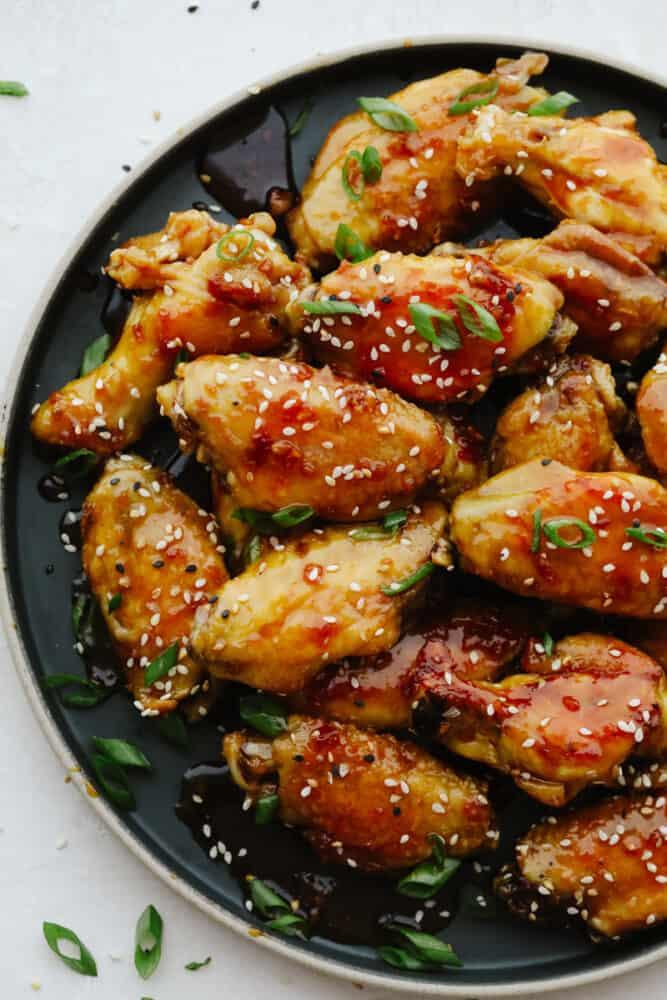 Sticky Honey Garlic Wings