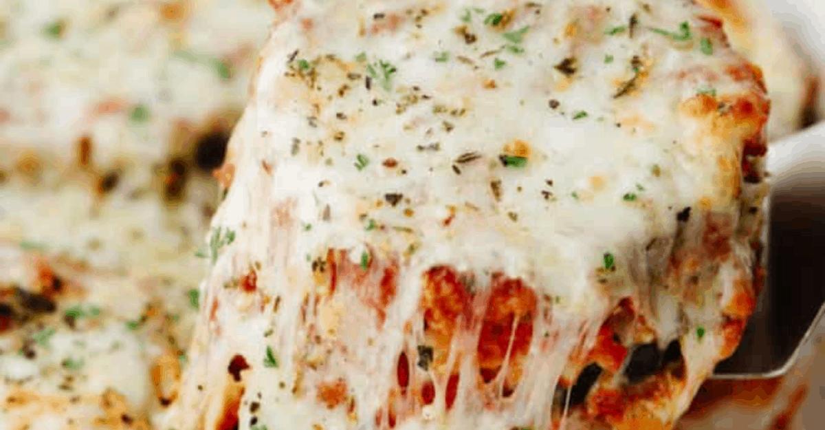 Amazing Eggplant Parmesan