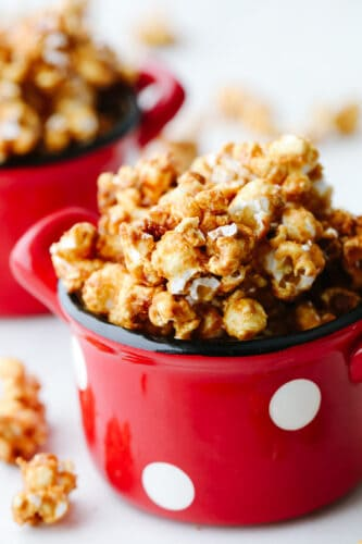 The Perfect Crunchy Caramel Corn
